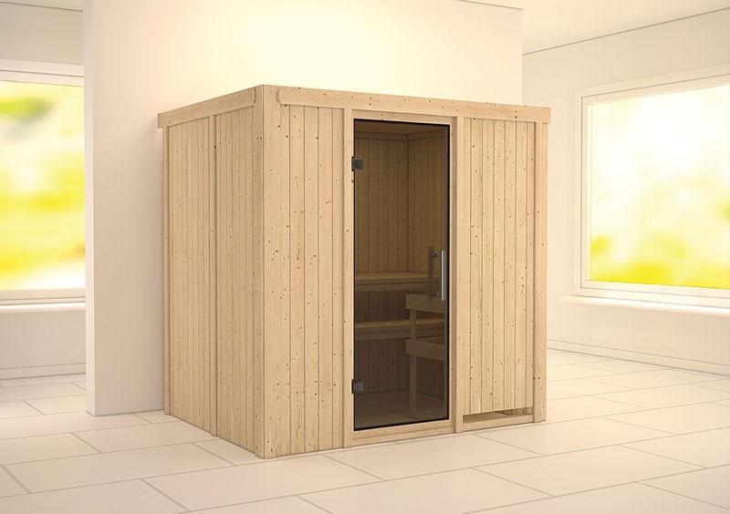 Karibu System Sauna Bodin easy (Fronteinstieg) 68 mm ohne Zubehör