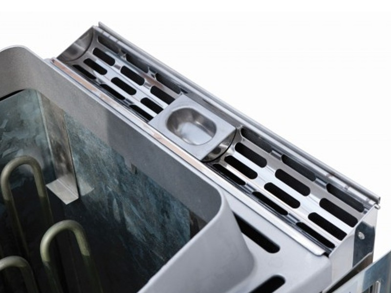 Karibu Bio-Saunaofen 9 kW inkl. Steuergerät easy für finnische Saunaöfen