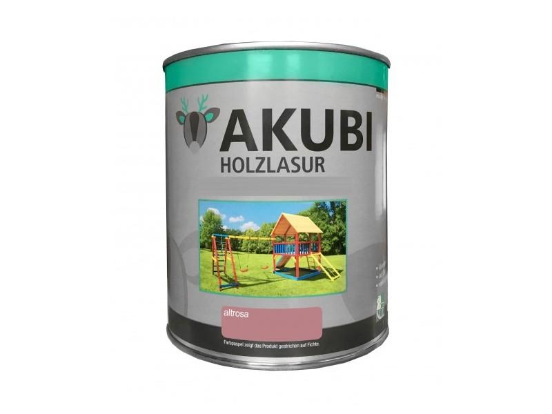 Holz-Lasur Altrosa Farbe Set 750 ml