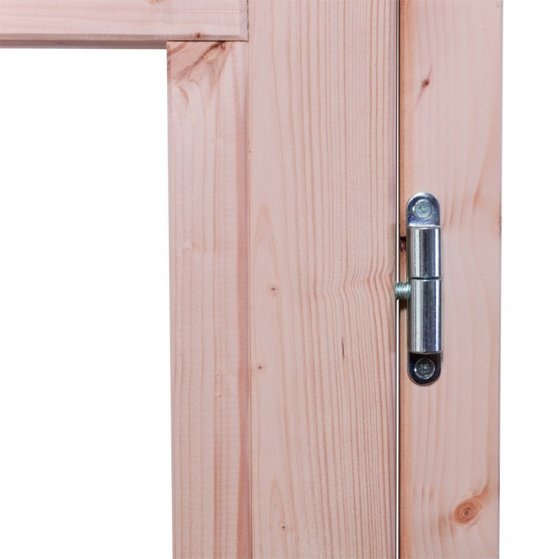 Karibu Woodfeeling Holz-Gartenhaus: Schwandorf 5 Pultdach 19 mm System - natur