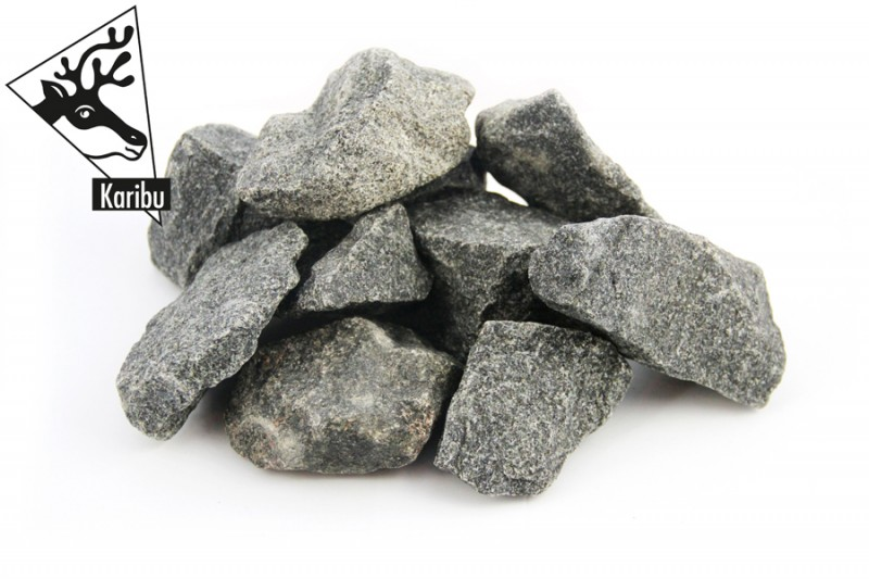Karibu 38 mm Saunahaus Gartensauna Nantes mit Eckeinstieg Ofen inkl Steuergerät easy Bio und 18 KG Steinen