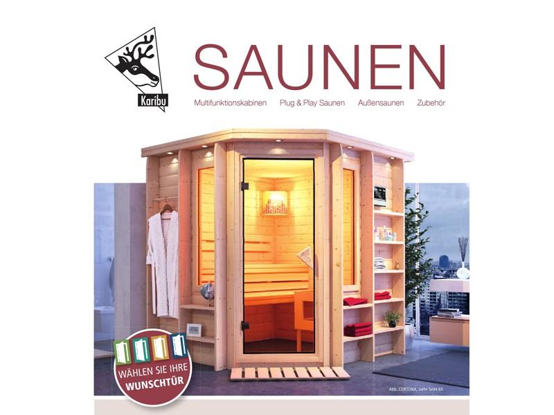 Karibu Sauna Katalog