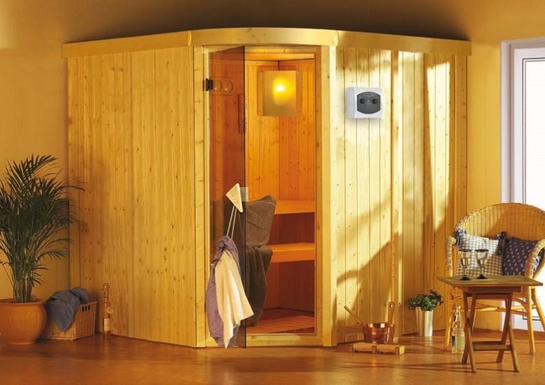 Karibu System Sauna Aukura (Rundeinstieg) 68 mm