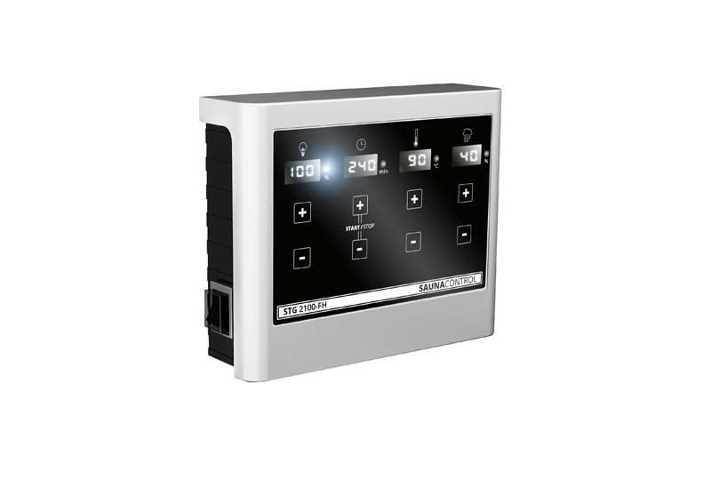 Karibu Systemsaunahaus 38 mm Saunahaus Kroge Ofen 9 kW Bio externe Strg easy  Gartensauna