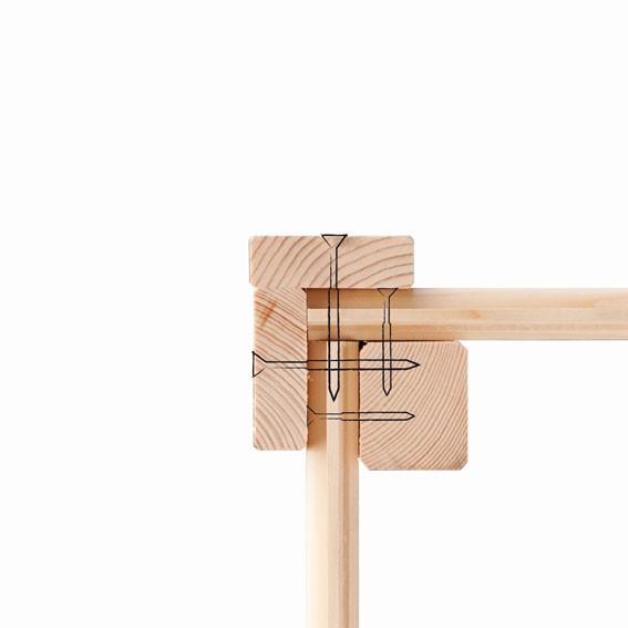 Karibu Holz Hochbeet 2 Farbe: seidengrau