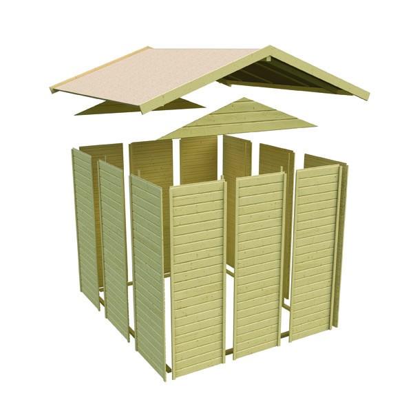 Karibu Maxi Spielhaus