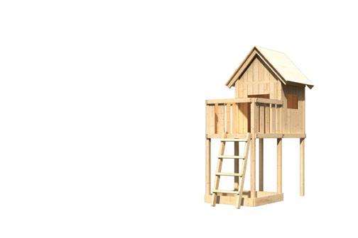 Karibu Spielhaus Frieda  mit Anbau