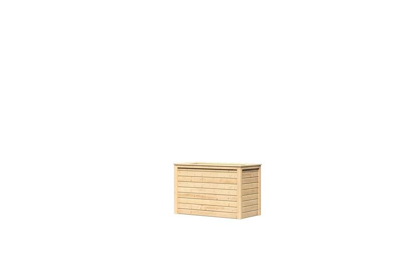 Karibu Hochbeet 1 (126 x 63 x 80 cm) - natur
