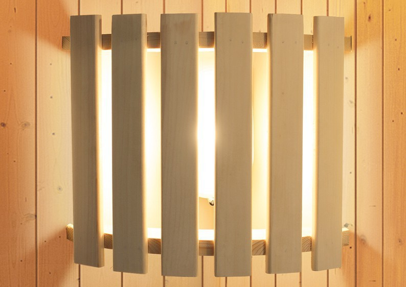 Karibu Set 2: Leuchte easy inkl. Kabel A, B, C und Geschenkset Aufgusskonzentrate