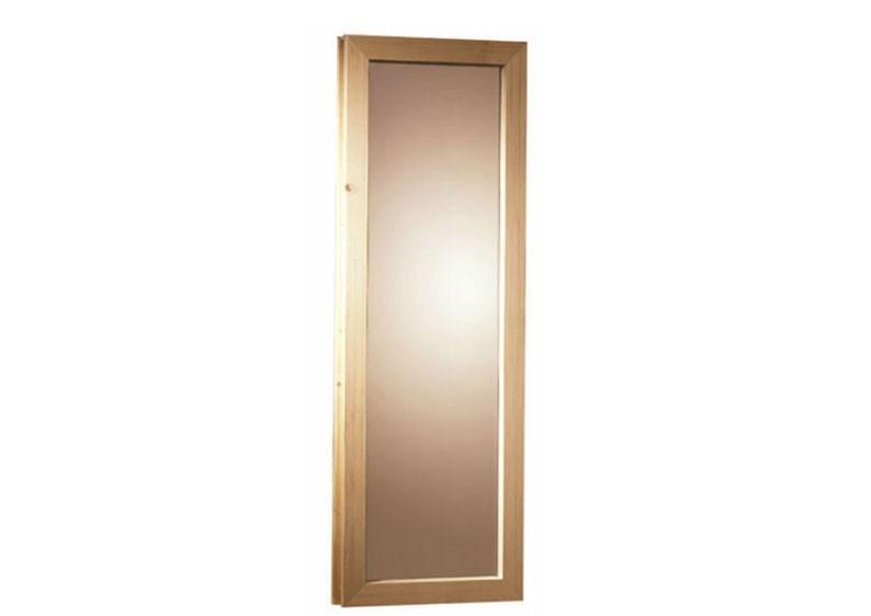 Karibu Sauna Fenster für 40 mm Saunen (42 x 185 cm)