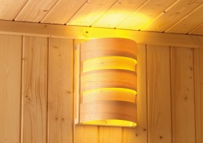 Karibu Leuchte CLASSIC 400 Volt - Kabel C nötig für Sauna