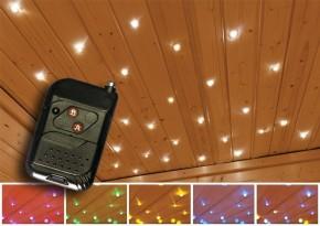 Karibu Leuchte Sternenhimmel LED Stimmungslicht mit Funksteuerung